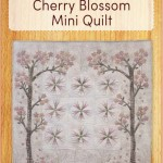 ZW2071 Cherry Blossom Mini Quilt